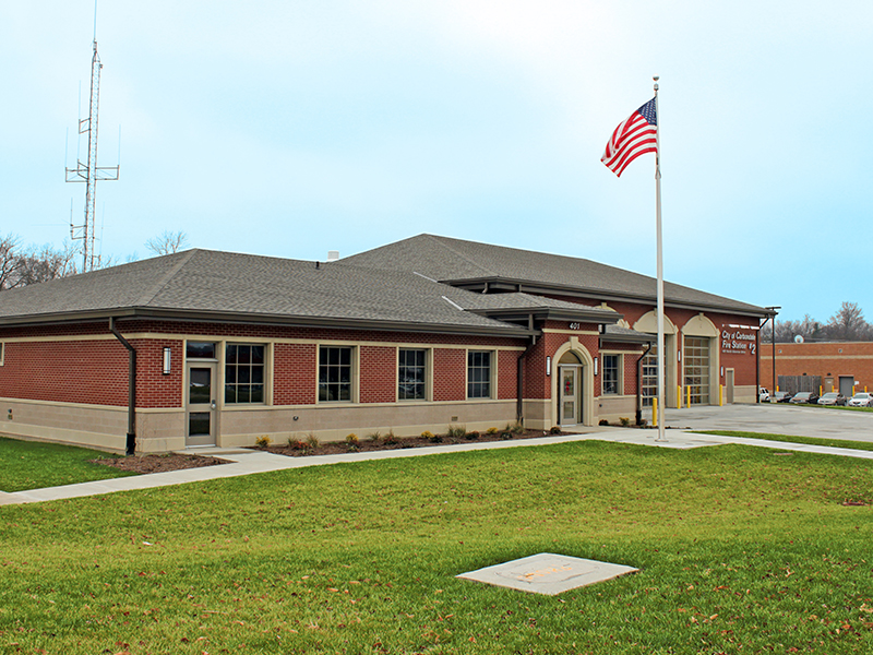 Carbondale Fire Station by Fager-McGee