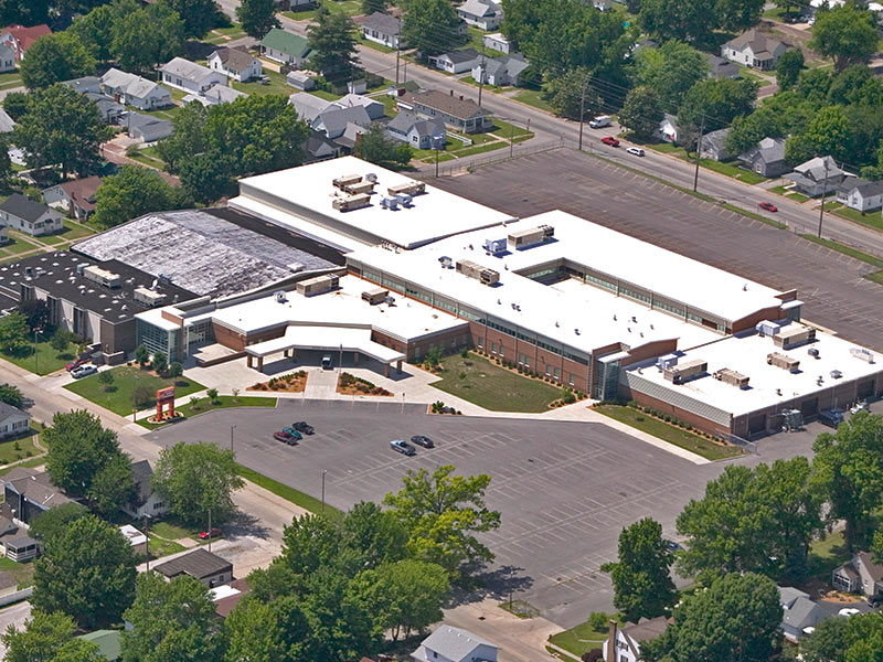 Herrin High School Addition & Renovation by Fager-McGee