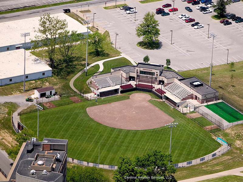 SIU Softball Complex by Fager-McGee