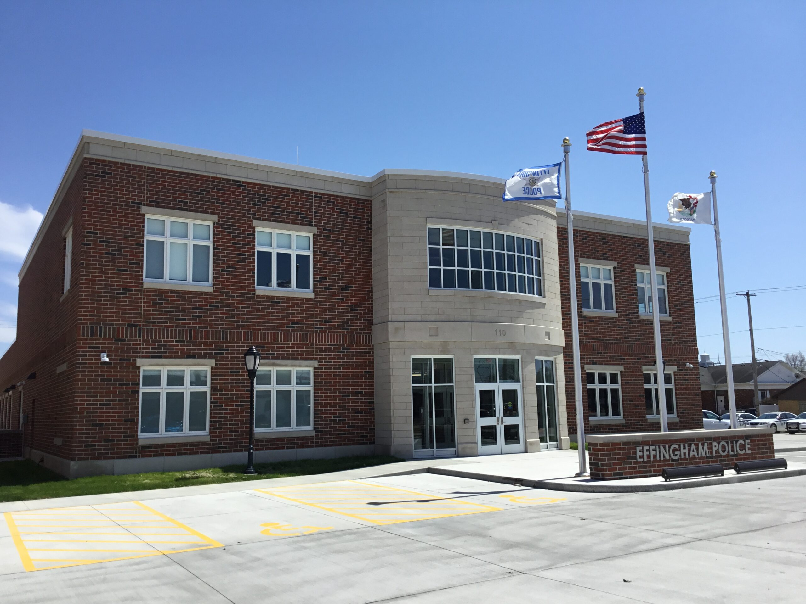 Effingham Police Station by Fager-McGee